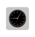 clock app button vector image