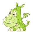 Cute dragon baby vector image vector image