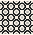 geometric pattern seamless texture with circles vector image vector image