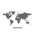 gray earth map world map wold map vector image vector image
