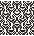 seamless pattern concentric bold circles vector image