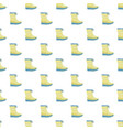 winter warm boot pattern seamless vector image vector image