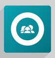 flat family icon vector image