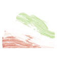 abstract flag sketch of iran vector image vector image
