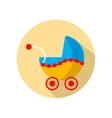 Baby buggy vector image