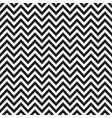 black and white chevron retro decorative pattern vector image vector image