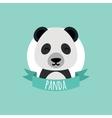 Cute Cartoon panda vector image vector image