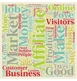 Do You Have What It Takes To Be An Affiliate vector image vector image