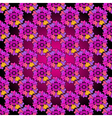 Floral purple seamless spring pattern vector image vector image