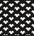 funky monochrome seamless hipster pattern vector image vector image