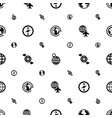 geography icons pattern seamless white background vector image vector image
