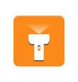 lantern app button vector image