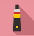 one moment glue icon flat style vector image