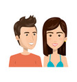 persons group avatars characters vector image