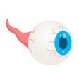 zombie eye icon isometric style vector image vector image