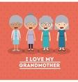grandparents concept design vector image