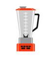 icon kitchen blender vector image vector image