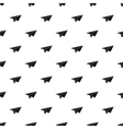Paper plane pattern simple style vector image