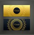 premium mandala golden banners design vector image vector image