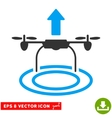 Start Drone Eps Icon vector image vector image