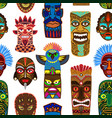 tribal mask masking ethnic culture and vector image