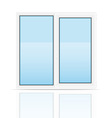 plastic window 01 vector image