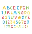 Colorful children ABC for your design vector image vector image