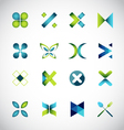 Icon design based on letter x vector image vector image