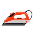 icon iron vector image