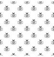 syringe drug pattern seamless vector image