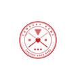 vintage retro badge billiard pool logo design vector image vector image