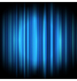 abstract lights background blue vector image vector image