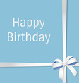 card for birthday vector image