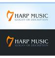 Celtic Music Logo vector image