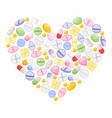 different colorful medical pills capsules and vector image vector image