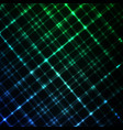 digital glowing background hi-tech green and blue vector image vector image