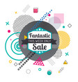 discount or special offer sale banner or flyer vector image vector image