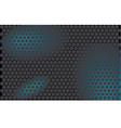 gray honeycomb vector image vector image