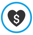 Paid Love Icon vector image
