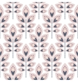 Stylized leaf pale pink seamless pattern vector image vector image