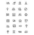 Travel Line Icons 3