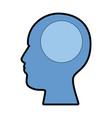 user profile silhouette avatar icon vector image vector image