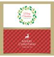 christmas cards set 2 vector image