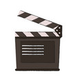 clapperboard vector image vector image