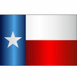 grunge flag of texas vector image vector image