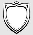 heraldic badge vector image vector image