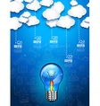 Infographic Layout for Brainstorming Concept vector image vector image
