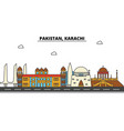 Pakistan karachi city skyline architecture