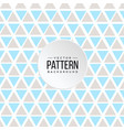pattern blue gray triangle background image vector image