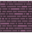 seamless texture placing purple stone wall vector image vector image